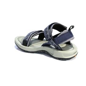 SOURCE Comfort Gobi Sandalias Hombre, azul